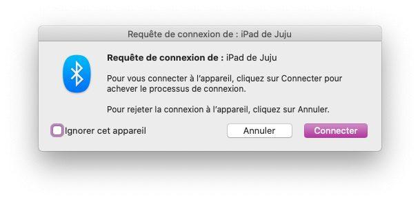 mac bluetooth reseau ipad Comment partager la connexion internet de son Mac en Wi Fi
