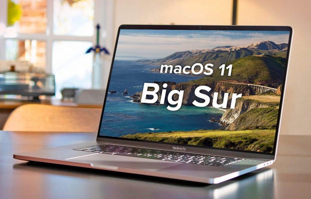 macOS 11 Big Sur MacBook Pro macOS Big Sur : le bug qui permettait de lancer linstallation sans suffisamment despace disponible est corrigé