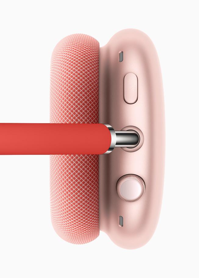 Apple AirPods Max Digital Crown Apple présente lAirPods Max, son casque audio sans fil pour la somme de 629 euros