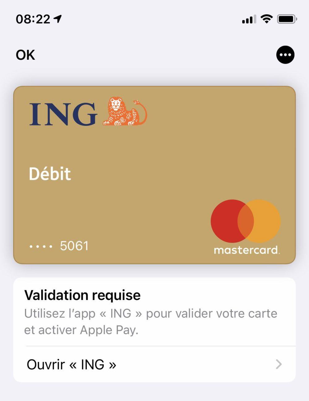 Apple Pay ING Apple Pay, le service de paiement dApple, est enfin disponible chez ING