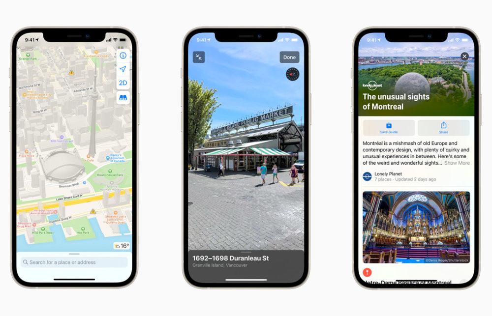 Apple Plans Nouvelles Cartes Canada Apple Plans ajoute des informations sur le COVID 19 dans plus de 300 aéroports