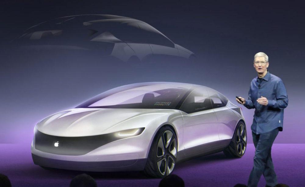 Concept Apple Car Tim Cook Apple devrait lancer la production de lApple Car en 2024