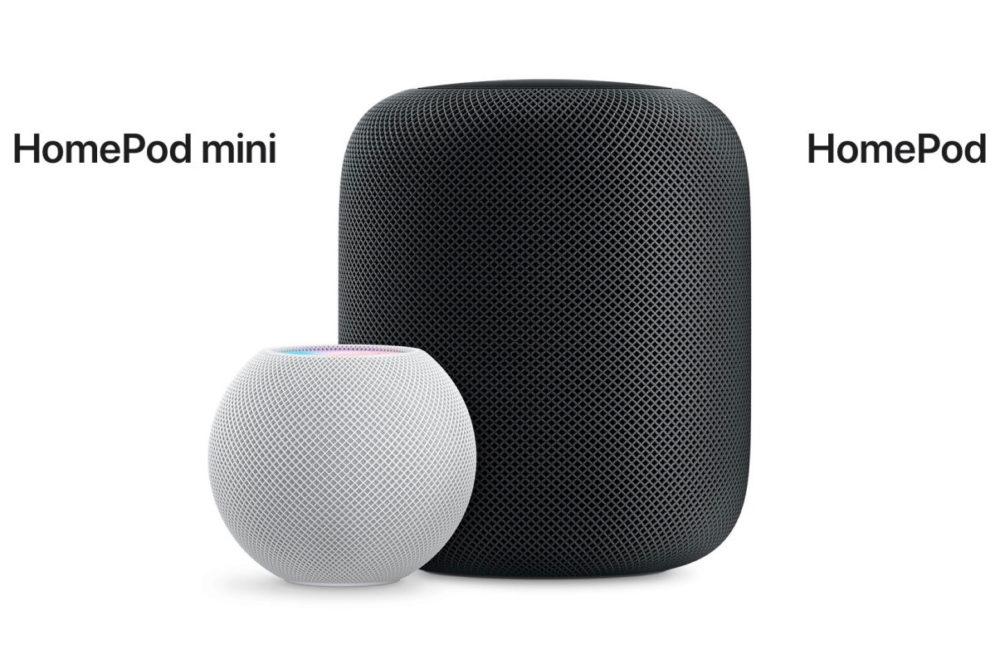 Apple a publié la mise à jour 14.3 pour le HomePod et le HomePod mini