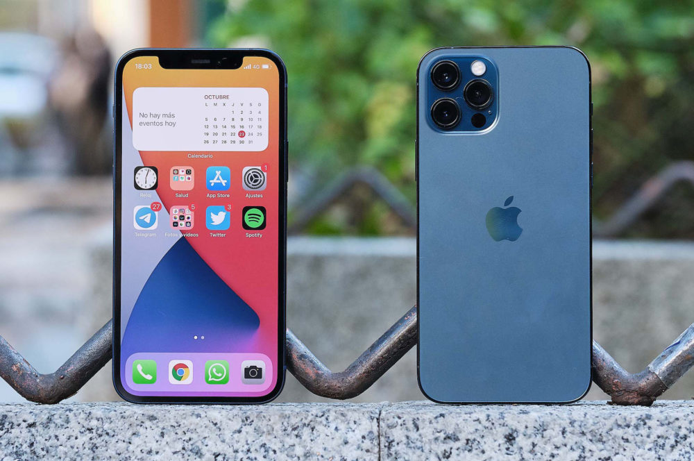 iPhone 12 Pro 1 iPhone 13 : les modèles Pro pourraient avoir un écran 120 Hz