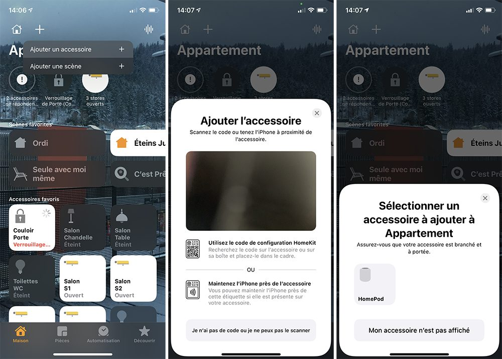 iphone maison ajout Comment configurer un HomePod (mini)