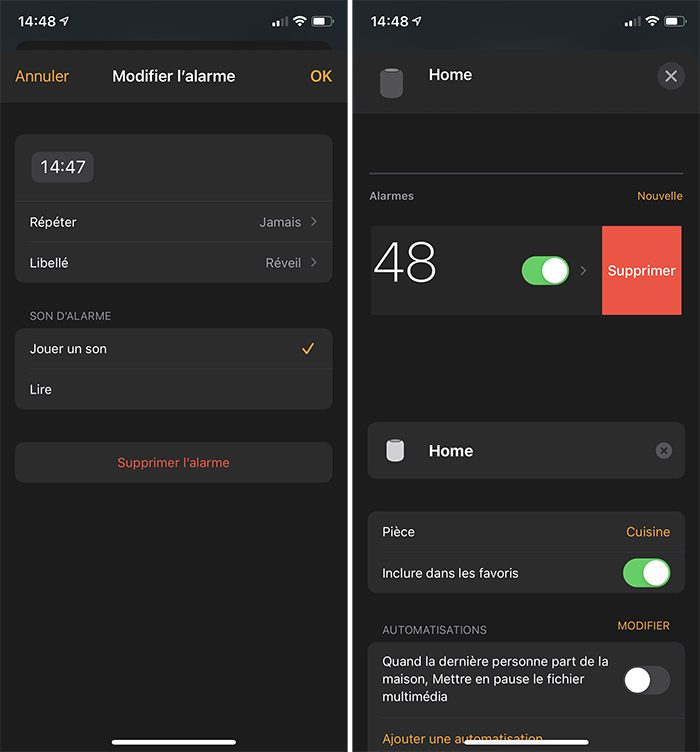 iphone maison alarme homepod Comment configurer un HomePod (mini)