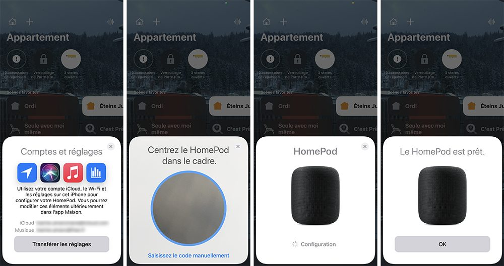 iphone maison homepod ajout final Comment configurer un HomePod (mini)