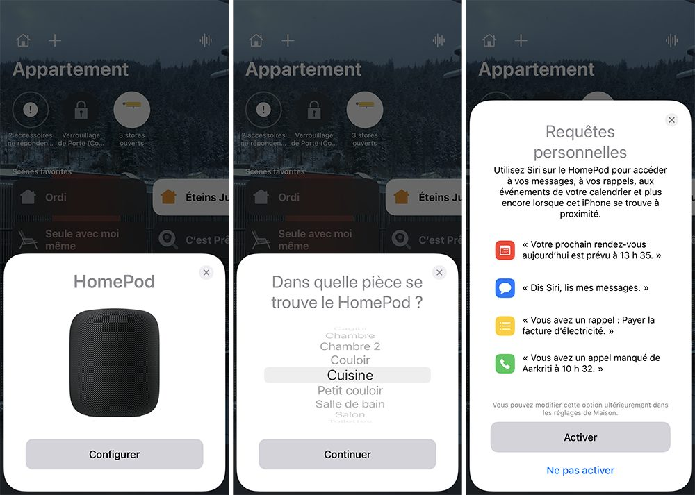 iphone maison homepod ajout Comment configurer un HomePod (mini)