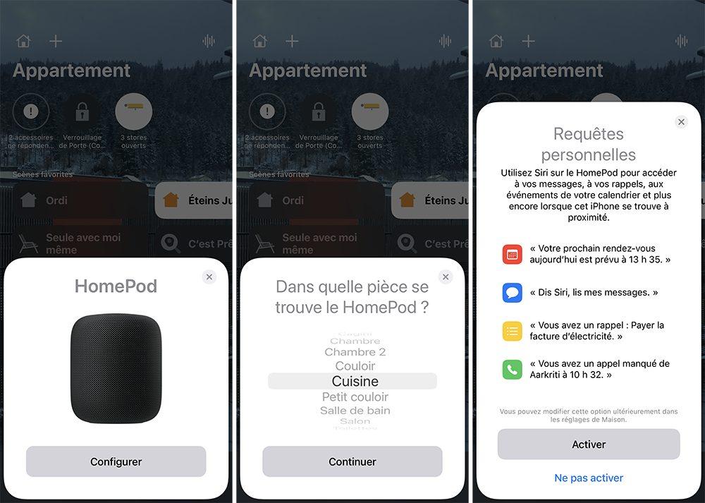 iphone maison homepod ajout Comment configurer un HomePod (mini)