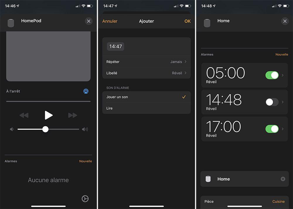 iphone maison homepod alarmes Comment configurer un HomePod (mini)