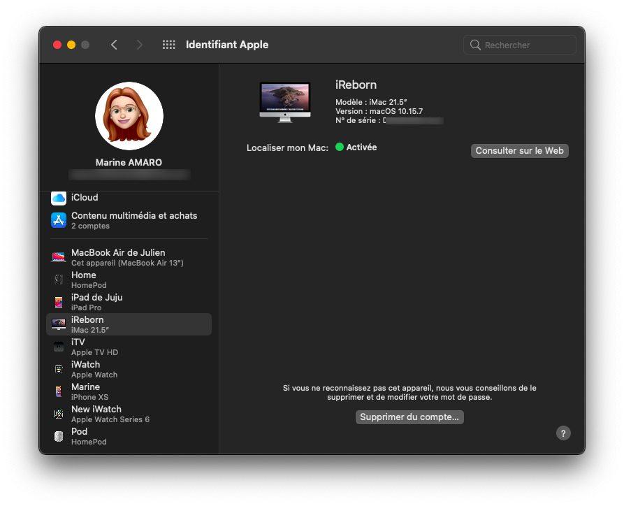mac identifiant apple appareil Comment faire si vous avez déjà 5 ordinateurs autorisés sur iTunes / Musique