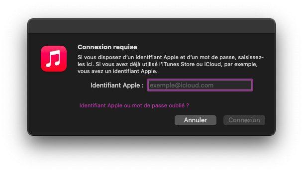 mac se connecter Comment faire si vous avez déjà 5 ordinateurs autorisés sur iTunes / Musique