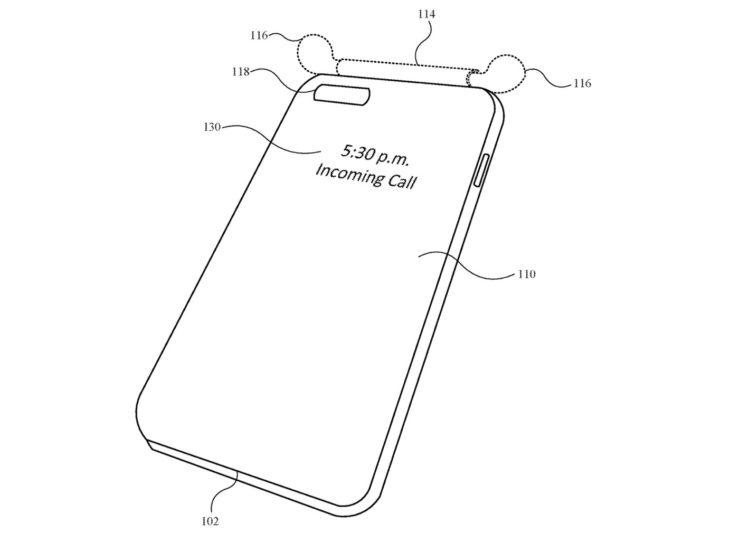 Brevet Coque Pour iPhone Recharge AirPods 3 Un brevet Apple montre une coque pour iPhone qui pourrait recharger les AirPods