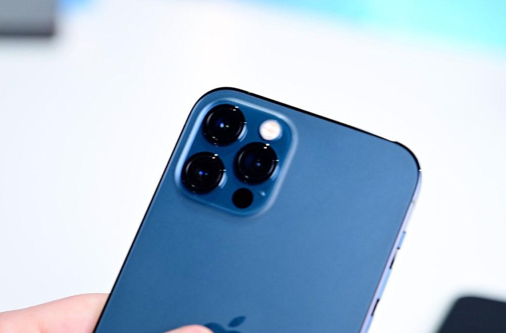 Camera iPhone 12 Pro iOS 14.4 introduira une alerte sur les iPhone avec des capteurs photo ne provenant pas dApple