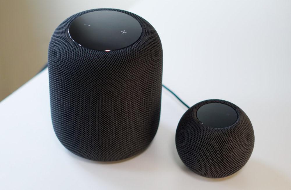 HomePod mini et HomePod Apple prépare la prise en charge de lAudio Spatial et du Lossless sur le HomePod