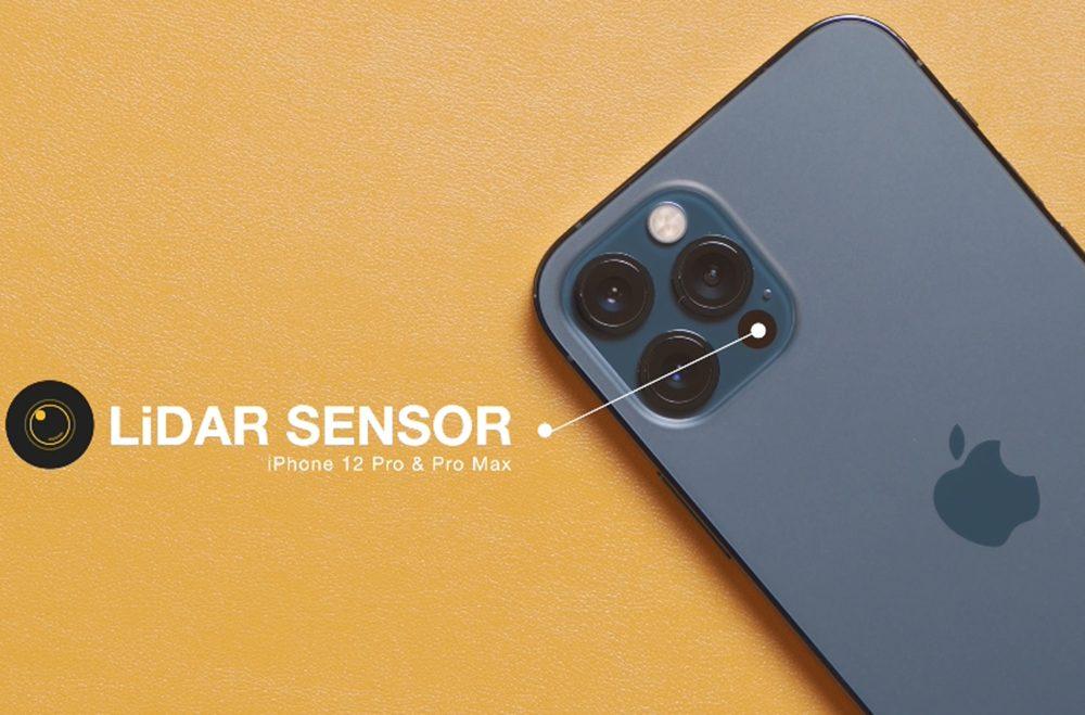 iPhone 12 Pro Max LIDAR Scanner iPhone 13 : tous les modèles seraient équipés du scanner LiDAR