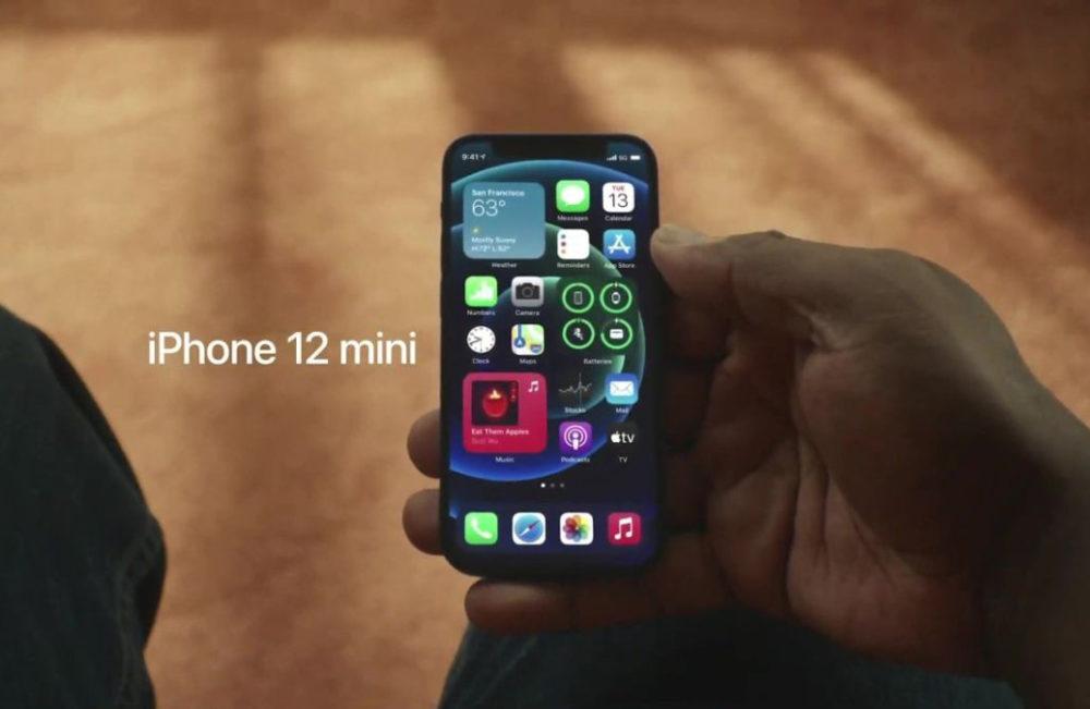 iPhone 12 mini Apple Les ventes de liPhone 12 mini continueraient dêtre à la traîne