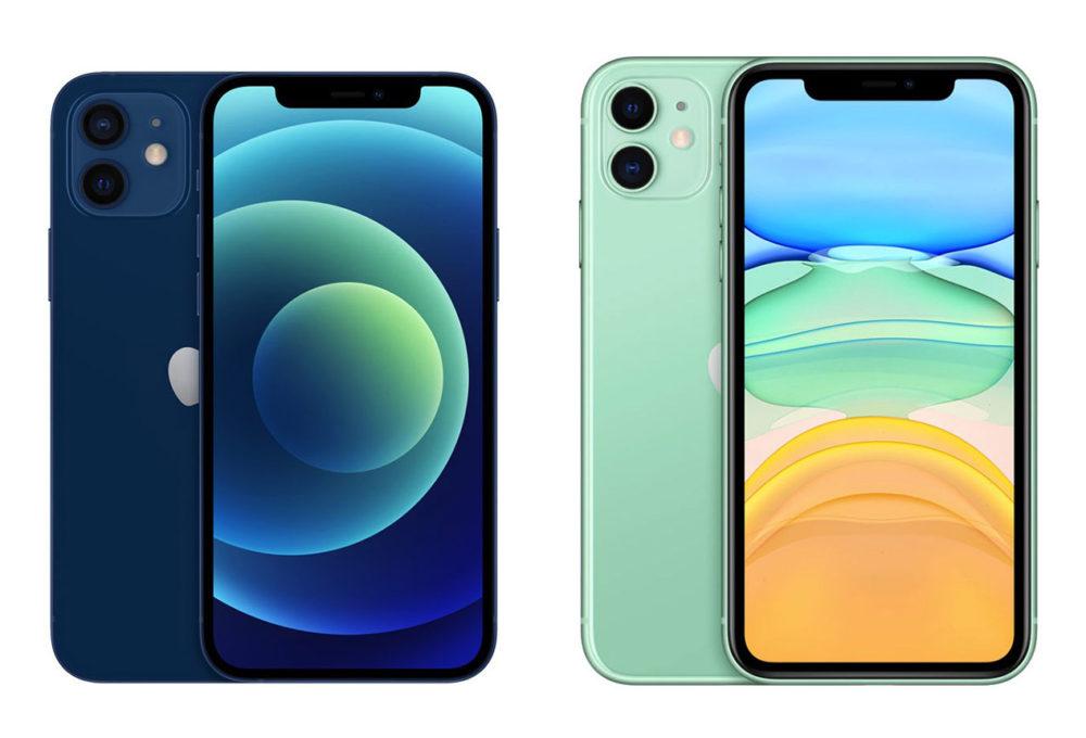 iPhone 12 vs iPhone 11 Une vidéo compare lautonomie de liPhone 11 et de liPhone 12 avec le mode sombre
