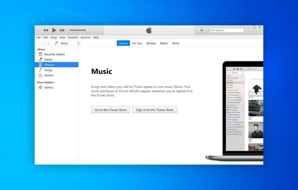 iTunes Windows Apple prévoit de proposer ses apps Musique et Podcasts sur le Microsoft Store