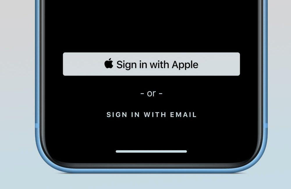 iphone sign in with apple connexion Comment utiliser le service Connexion avec Apple