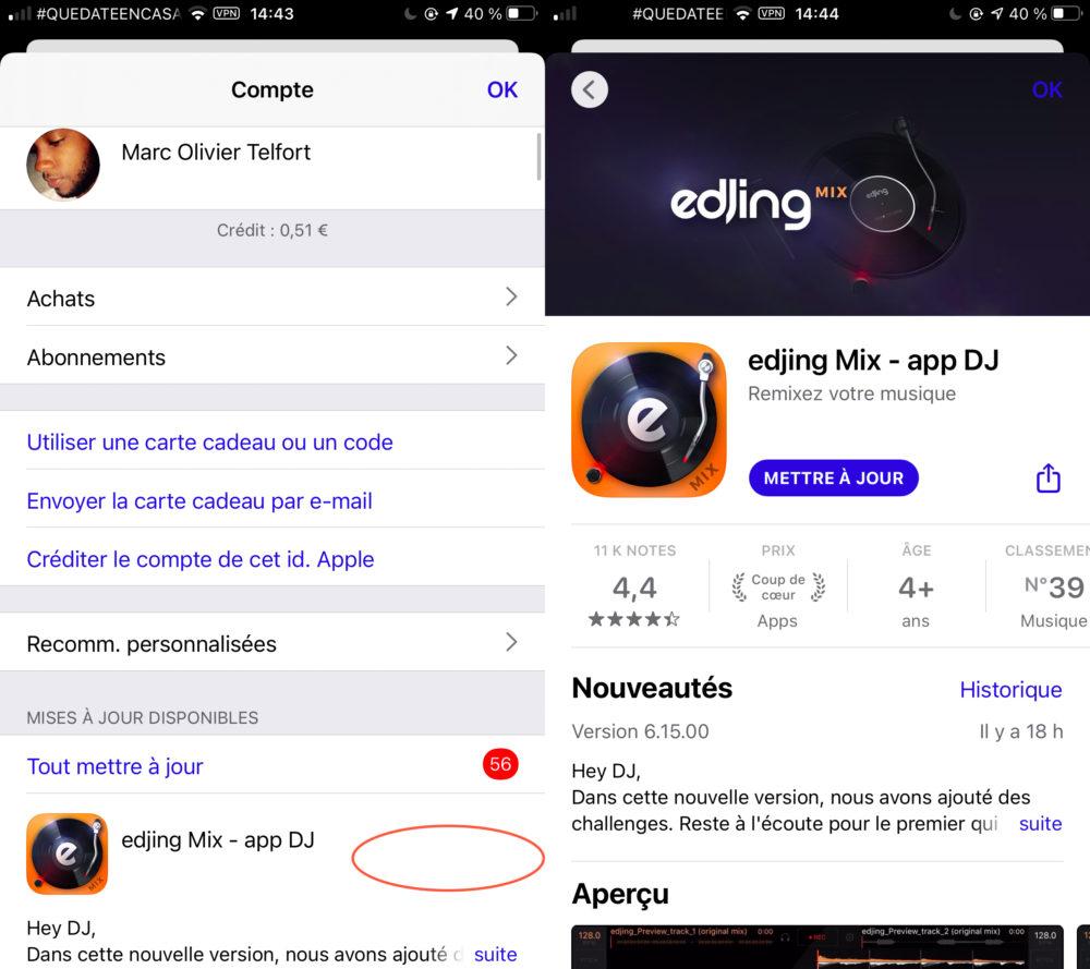 App Store Disparition Bouton Mise a Jour App Store : le bouton « Mettre à jour » nest plus disponible chez certains utilisateurs