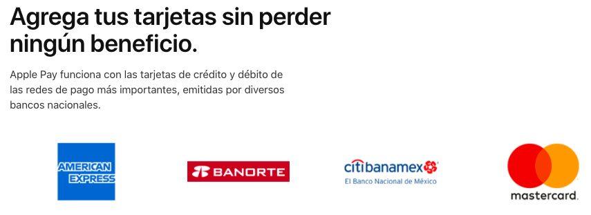 Apple Pay Mexique Banques Compatibles Apple Pay fait enfin son arrivée au Mexique