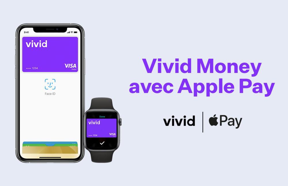 Apple Pay fait son arrivée chez la néobanque allemande Vivid