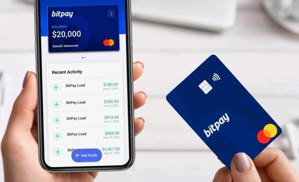 BitPay Card La Mastercard de BitPay est désormais compatible Apple Pay