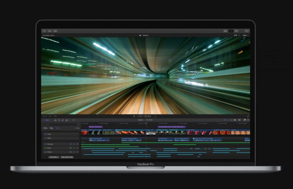 Final Cut Pro MacBook Pro Apple met à jour Final Cut Pro, iMovie, Motion et Compressor sur Mac