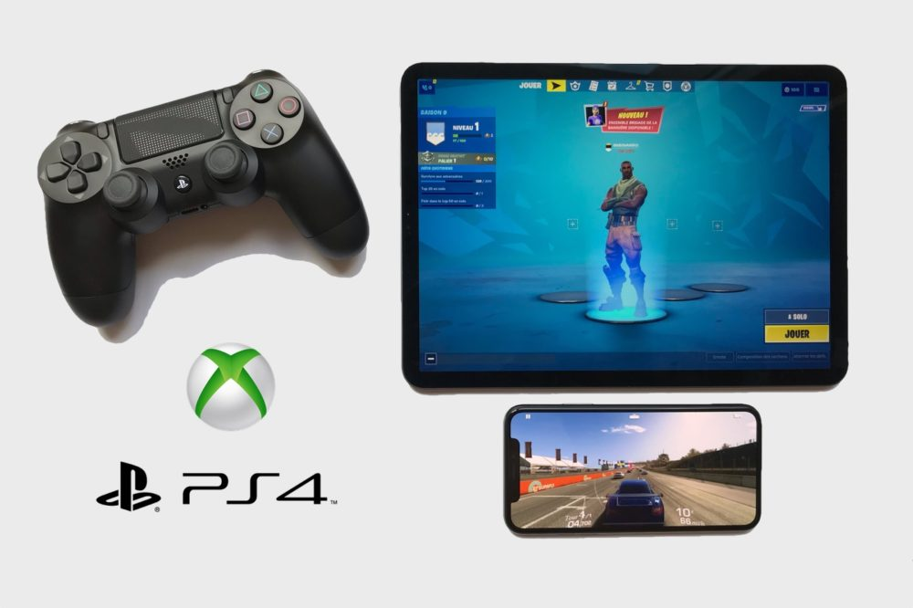 iOS 14 Manette PS4 iOS 14.5 : support des manettes PS5/Xbox Series X et dAirPlay 2 pour Fitness+