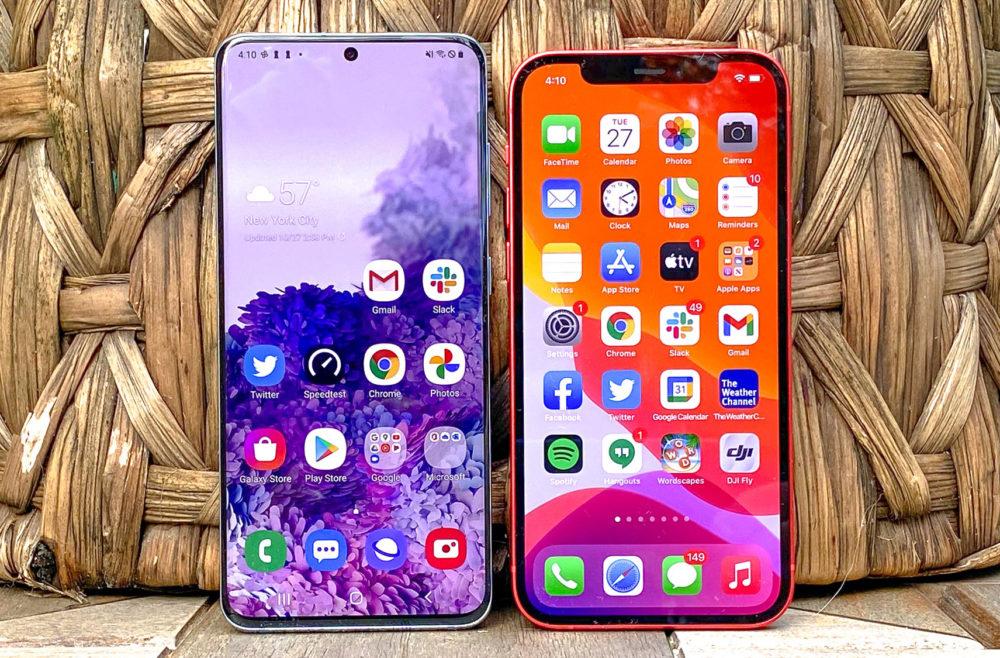 iPhone 12 Galaxy S20 États Unis : liPhone 12 Pro Max est le smartphone 5G le plus populaire