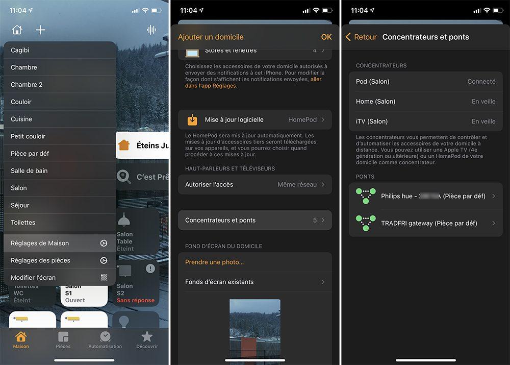 iphone concentrateur homepod apple tv Comment configurer un concentrateur pour contrôler à distance les accessoires HomeKit