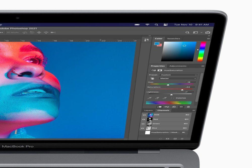 Adobe met à jour Photoshop pour supporter les Mac M1 (Apple Silicon)
