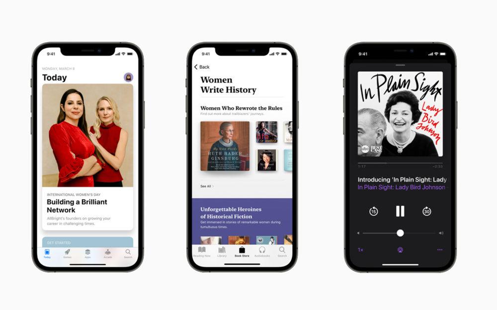 Apple Mois Histoire des Femmes 2021 Apple célèbre le mois de lhistoire des femmes et la journée internationale des droits des femmes avec ses services