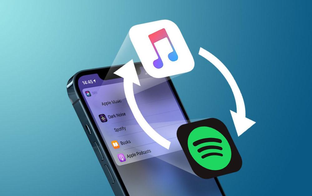 Changer App Musicale par Defaut iOS 14.5 iOS 14.5 : de nouveau possible dactiver loption qui permet de changer lapp musicale par défaut avec Siri