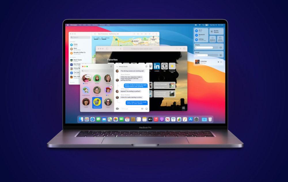 MacBook Pro macOS Big Sur macOS Big Sur 11.5 : Apple publie la bêta 5