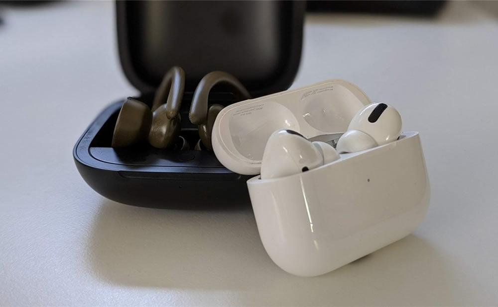 Powerbeats Pro AirPods Pro Apple a dominé le marché des écouteurs au cours de lannée 2020
