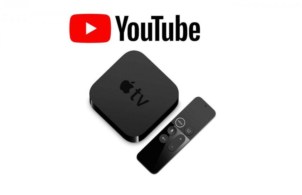 YouTube Apple TV Lapplication YouTube nest plus disponible sur lApple TV de 3e génération