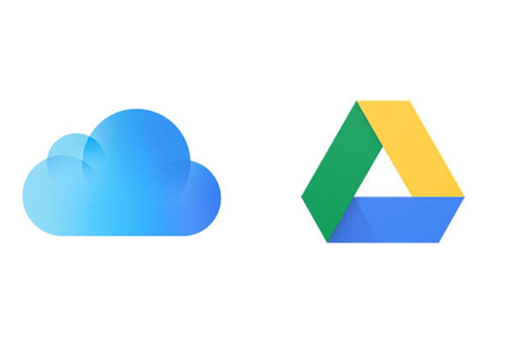 iCloud et Google Drive Apple propose de transférer les photos diCloud vers Google Drive