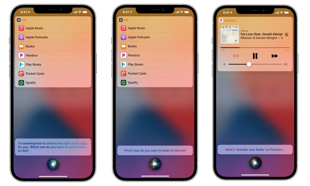 iOS 14.5 Siri Application Musique Apple précise quiOS 14.5 ne permettait pas aux utilisateurs de choisir lapp musicale par défaut