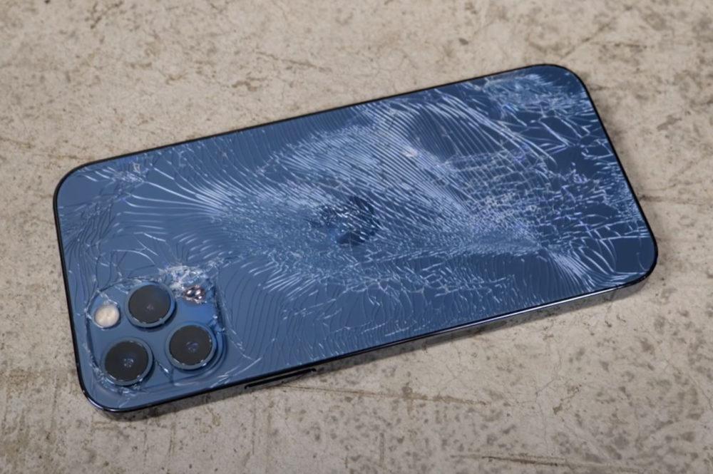 iPhone 12 Pro Facede Arriere Casse iPhone 12 Pro et Max : Apple va également réparer la vitre arrière au lieu de les remplacer