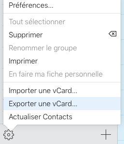 icloud contact exporter vcard Comment faire le transfert de ses contacts, photos et autres données dun iPhone vers Android ?