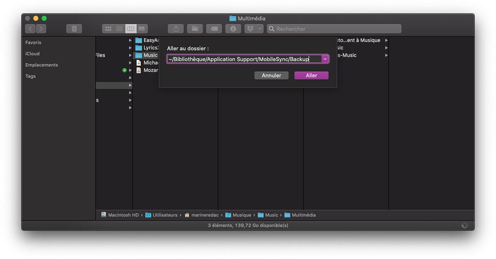 mac finder aller dossier sms Comment faire le transfert de ses contacts, photos et autres données dun iPhone vers Android ?