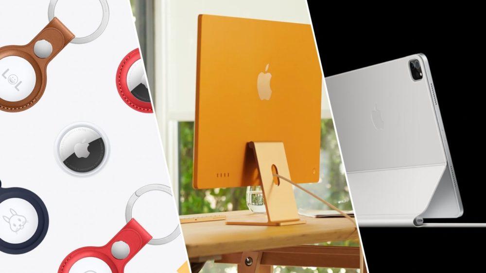AirTag iMac M1 iPad Pro M1 AirTag, Apple TV 4K, iMac M1 et iPad Pro M1 (2021) : nous connaissons les prix en euros
