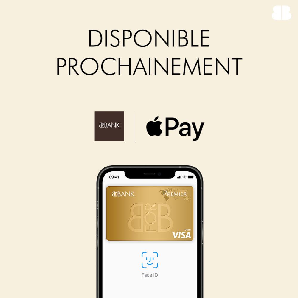 BforBank annonce quApple Pay sera disponible prochainement