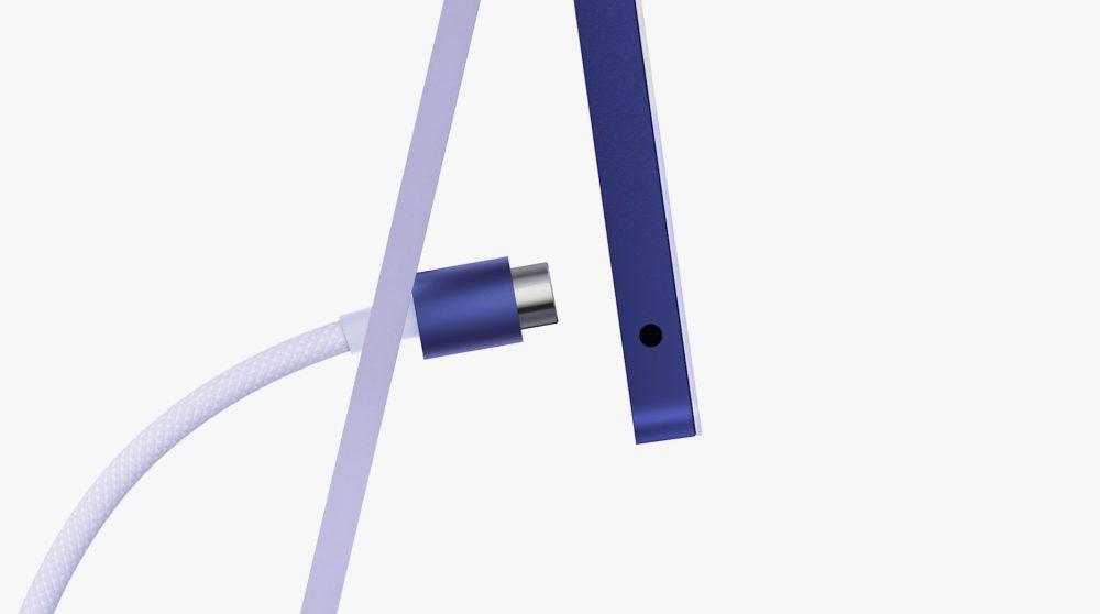 Apple iMac M1 Apple Silicon Nouvelle Connectivite Et Port Jack Apple dévoile officiellement un iMac M1 (Apple Silicon) avec un nouveau design et plusieurs coloris