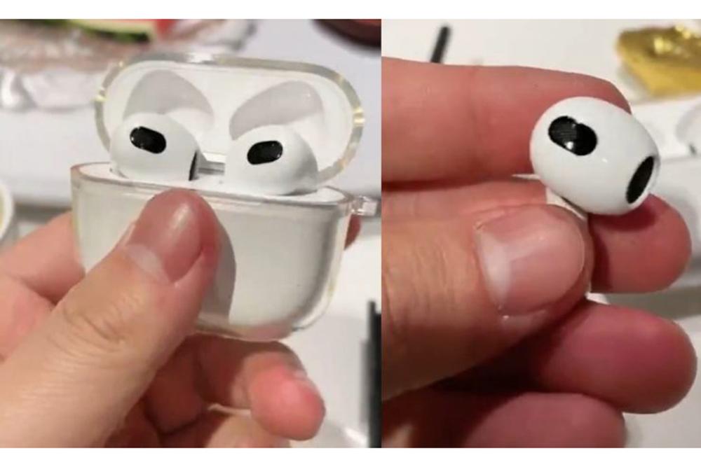 Contrefacons Apple AirPods 3 Des contrefaçons dAirPods 3 sont déjà dans la nature