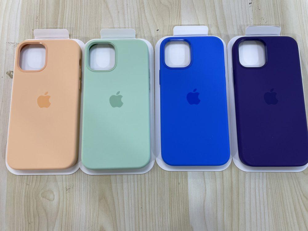 Coques MagSafe iPhone 12 : la sortie des nouvelles couleurs pour le printemps serait proche