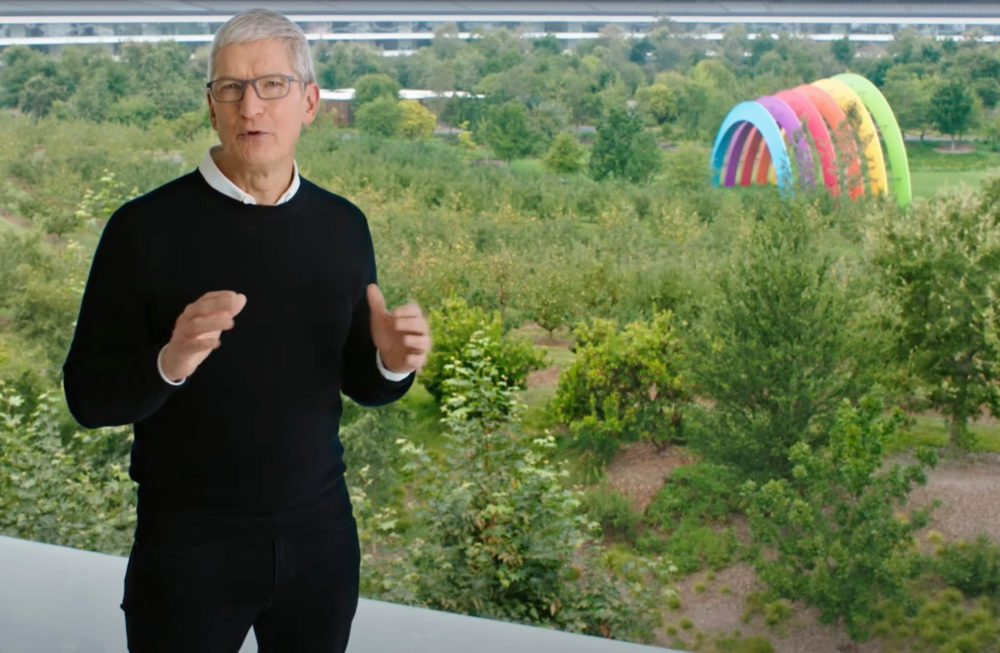 Tim Cook vient de tweeter au sujet de la keynote Spring Loaded avec un iPad