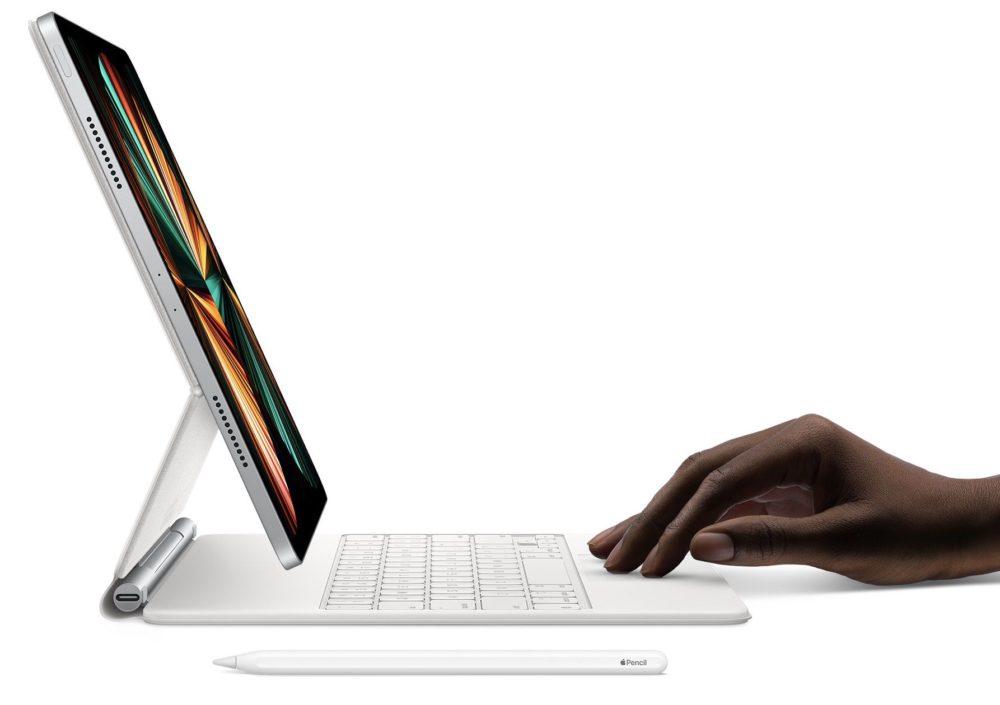iPad Pro M1 Magic Keyboard Les iPad Pro M1 pourraient être commercialisés le 21 et le 22 mai